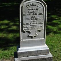 Buxton Cemetery,Bedford, NY